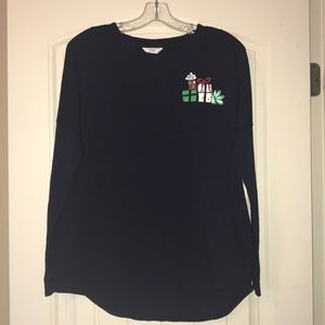Crown & Ivy Long Sleeve Holiday T-Shirt